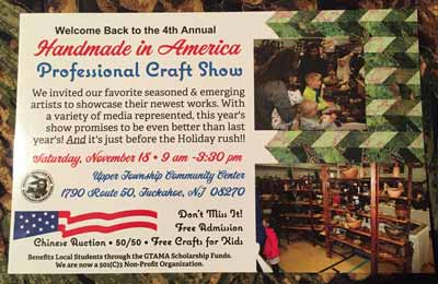 Tuchahoe - Craft Show - Saturday, Nov. 18, 2017