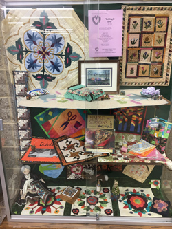 Quilt Show - Library Promotion Display